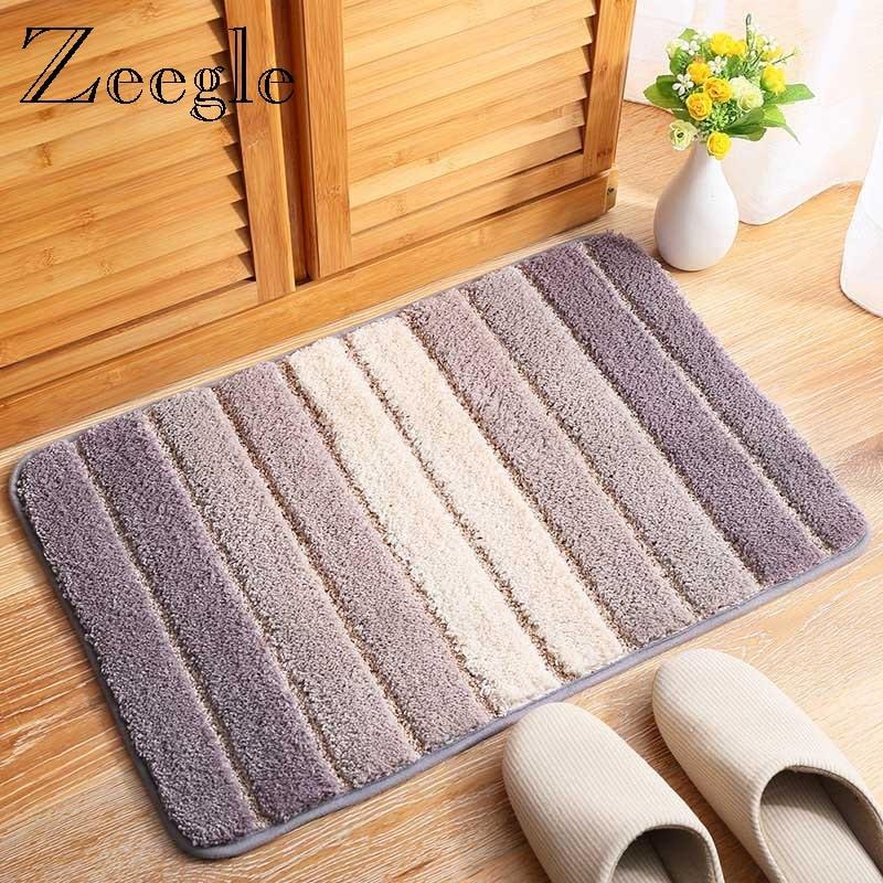 Zeegle-سجادة أرضية خارجية مقاومة للانزلاق ، سجادة يوجا ناعمة ماصة للممر وغرفة الأطفال وطاولة السرير