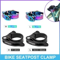 new bicycle quick release seat post clamp aluminum alloy ultra light road bike seatpost clamp 31 8mm 34 9mm bike accessories