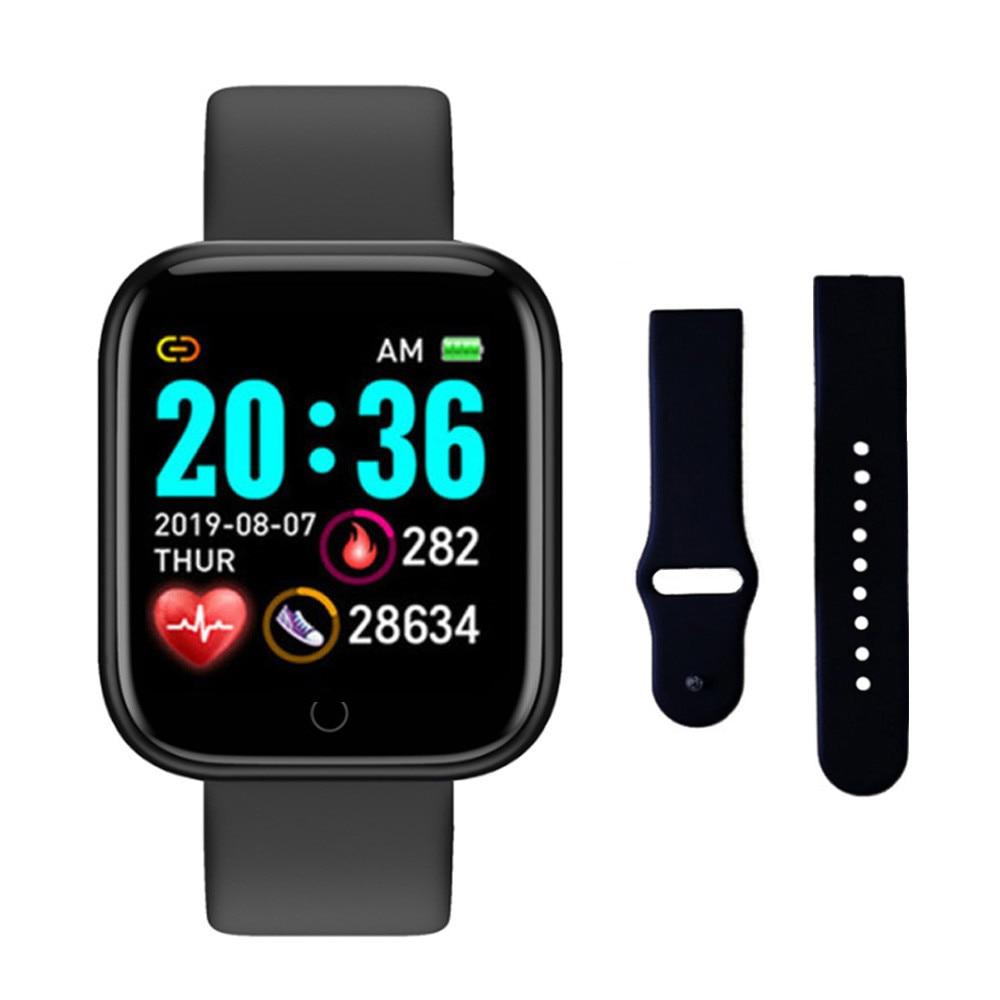 Y68 Smart Watch Blood Pressure Monitor Smart Clock D20 Waterproof Sport Smartwatch Watch for Android