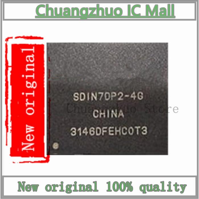 10PCS/lot SDIN7DP2-4G SDIN7DP2 BGA IC Chip New original