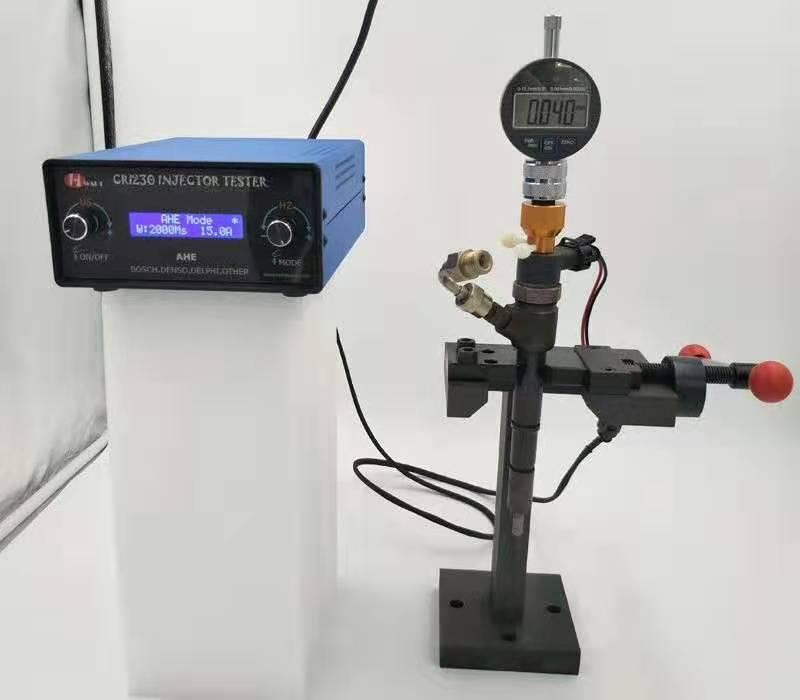 CRI230 probador de inyectores crdi de carril común de combustible diesel de alta presión de prueba del inyector simulador