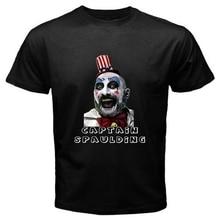 Cotton T Shirt Men Creative New Captain Spaulding Rob Murder Zombie Printed T Shirt Hot Sale Tops Short Sleeve Tees