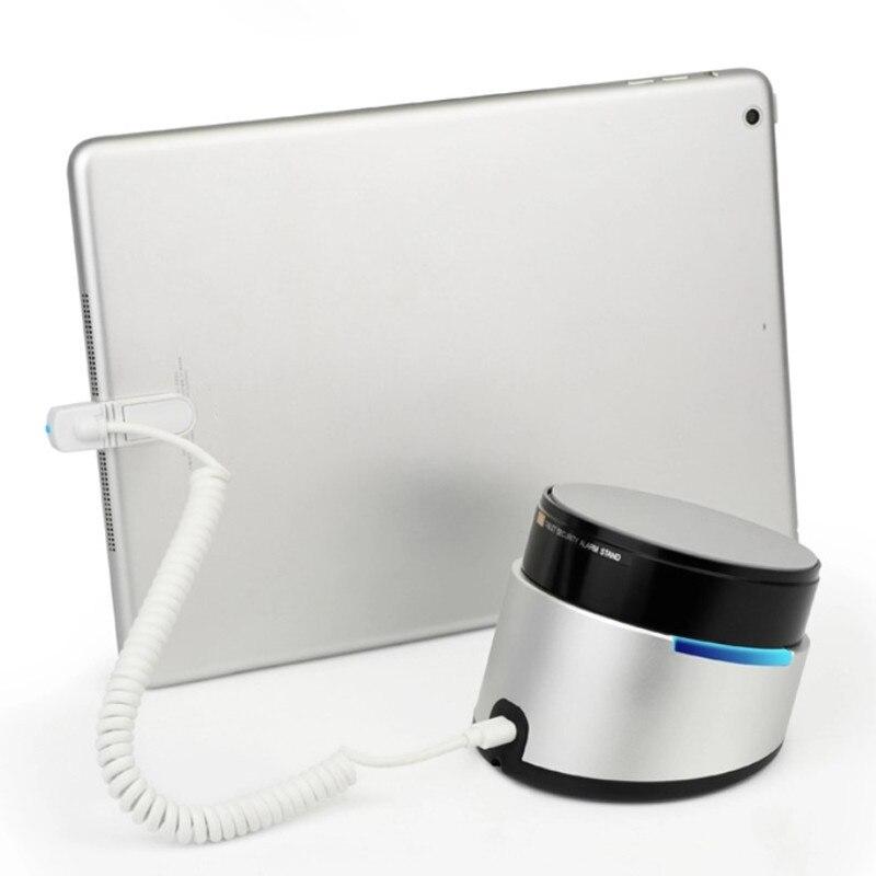 (8 Set/Lot ) Black Aluminium Remote Control Alarm Security Display Tablet Pad Demo Anti Lost Charging Base enlarge