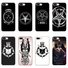 Чехол с пентаграммой 666 Demonic Satanic для iPhone 11 Pro XS Max XR X 8 7 6 6S Plus 5 5S SE силиконовый мягкий чехол