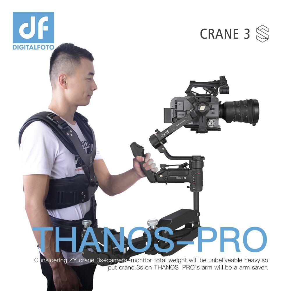 Digitalfoto THANOS-PRO steadicam z eixo easyrig readyrig suporte colete para zhiyun guindaste 3 s/3 cardan
