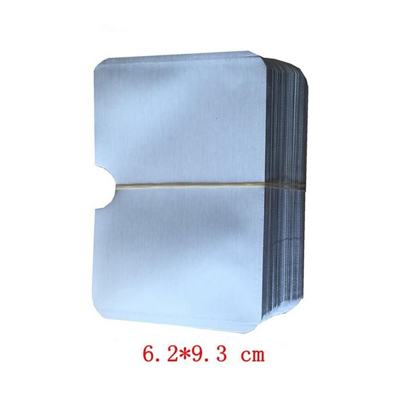 1/10 Uds., bolsa de papel de aluminio, Anti-desmagnetización, cubierta de tarjeta, blindaje RFID, Protector de tarjeta de crédito antirrobo NFC