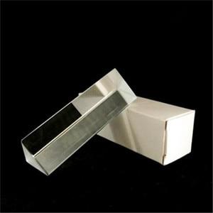 1 Pc 2.5cm x 2.5cm x 8cm Rainbow Optical Glass Triple Triangular Prism Physics Teaching Light Spectrum without The Box tool