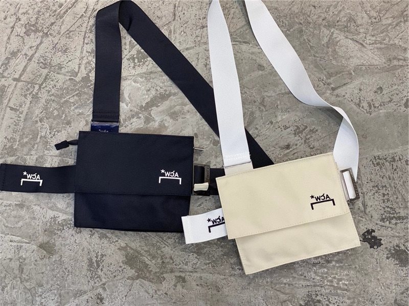 A-COLD-WALL* Bags ACW Men Women High Quality Canvas Bag A COLD WALL Embroidered Messenger Bag ACW Ba