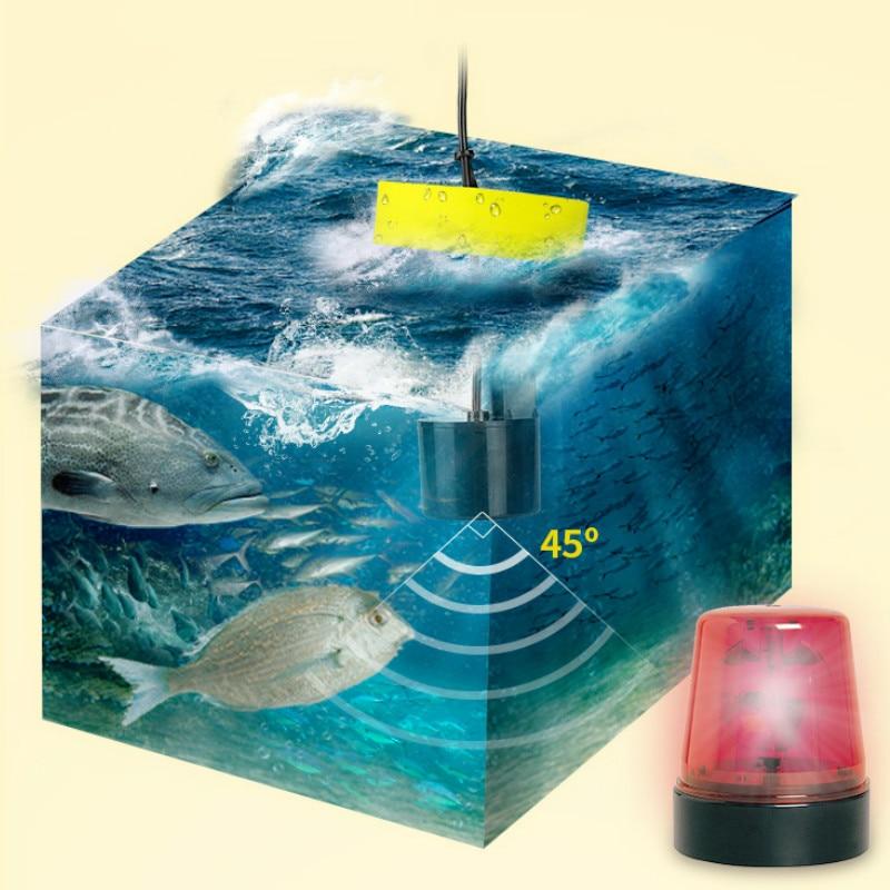 Professional Fish Finder Portable Wire Sonar Fish Detector Depth 0.6-100M Distance Range for Sea River Lake Sonar for Fishing enlarge
