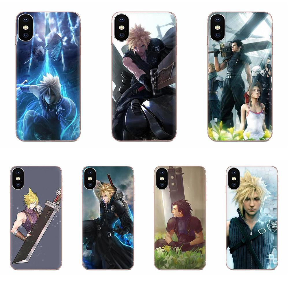 Caja del teléfono de la piel para Huawei Honor Mate 7 7A 8 9 10 20 V8 V9 V10 V30 P40 G Lite jugar Mini Pro P inteligente Final Fantasy Vii Ff7 Anime