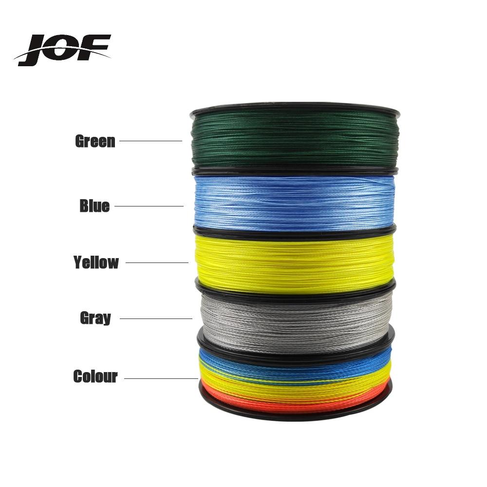 JOF Super Strong PE Line Braided Fishing Thread 9 Strands Weaves Braided 500M/300M/150M Fishing Line enlarge