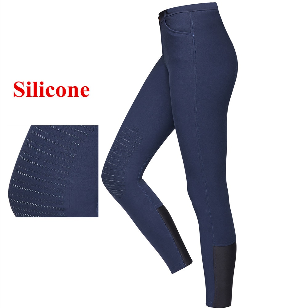 Horse Riding Pants Silicone Women Men Chaps Equestrian Breeches Horseback Horse Rider Thin Trousers Spring Summer Autumn Clothes