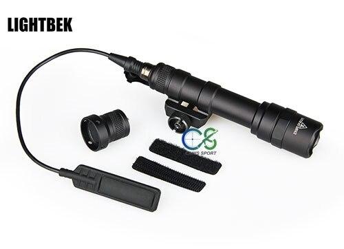 Luz M600B LED luz táctica linterna táctica para caza tiro al aire...