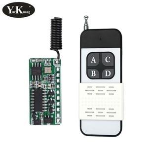 LOW Level Signal RF Decoding Receiver Module 4CH GND - TTL Remote Control Switch 3.7v 4.2v 5v 6v 9v 12v RF RX TX Door Access