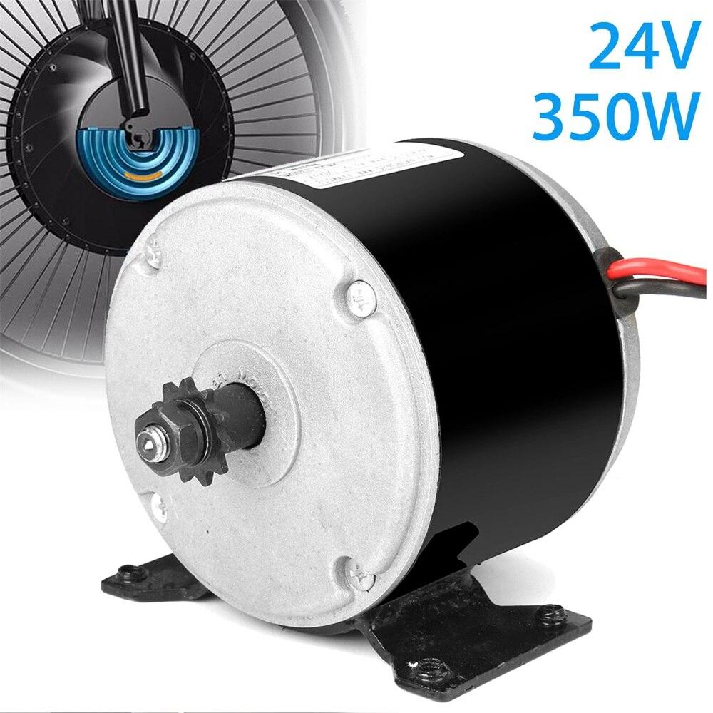 1 قطعة 24 فولت 350 واط 2700 دورة في الدقيقة المغناطيس الدائم موتور تيار مباشر الكهربائية 11 التروس مولد ل توربينات الرياح دراجة دراجة سكوتر DIY بها ب...