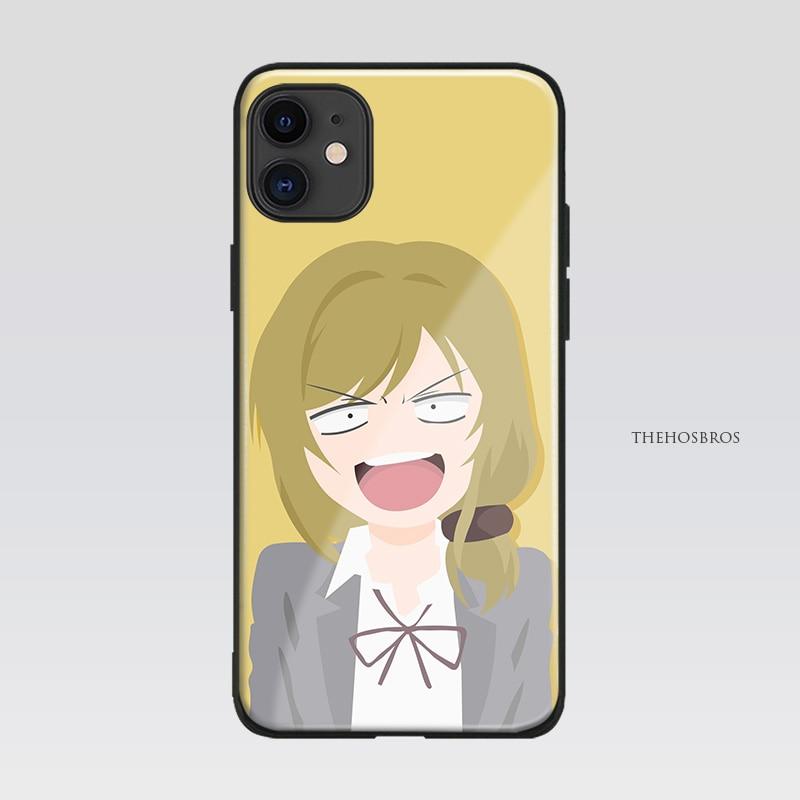Seo Yuzuki gekan Shoujo Nozaki-kun мягкий силиконовый стеклянный чехол для телефона чехол для iPhone SE 6s 7 8 Plus X XR XS 11 Pro Max