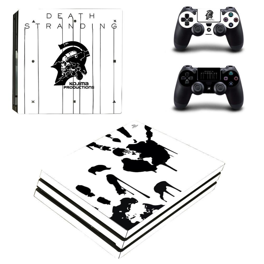 كوجيما الموت ستراندينغ PS4 برو ملصقات بلاي ستيشن 4 الجلد ملصق الشارات ل بلاي ستيشن 4 PS4 برو وحدة التحكم و المراقب جلود