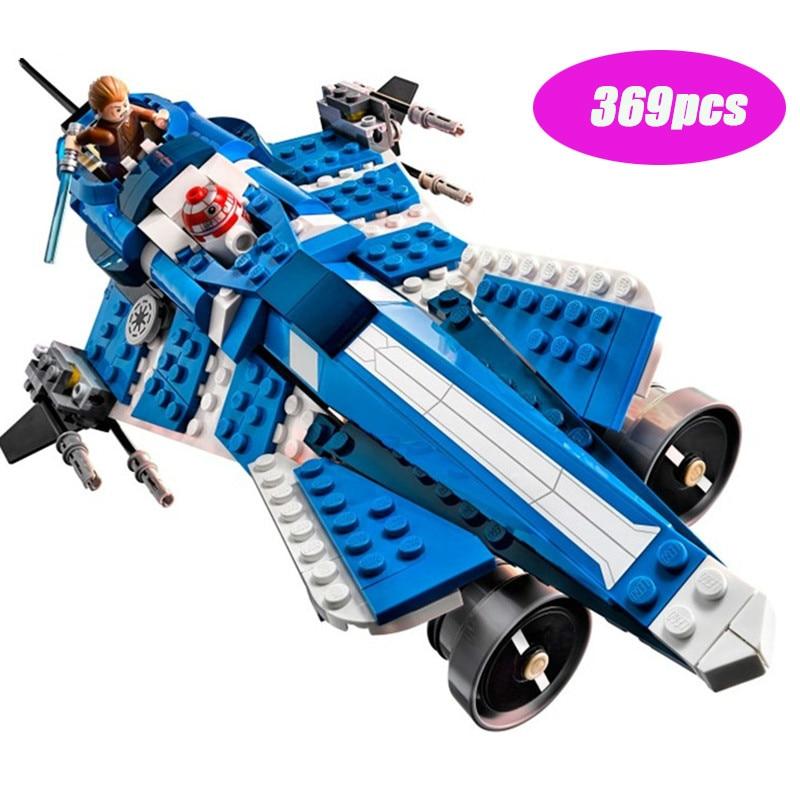 369 uds, triangulación de envíos, nuevos bloques de construcción de Star Wars, Anakins, juguetes Jedi personalizados, compatibles lepining Diy