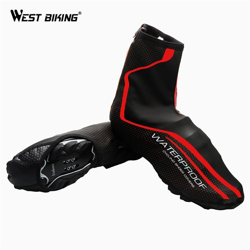 WEST ciclismo protector para calzado de ciclismo impermeable térmico MTB bicicleta de carretera cubre zapatos chanclos arranque en caliente cubre bicicleta deporte de la cubierta del zapato