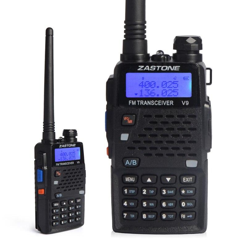 Zastone v9 mini handheld walkie talkie uhf 400-520mhz rádio em dois sentidos ao ar livre escalada portátil walkie talkies