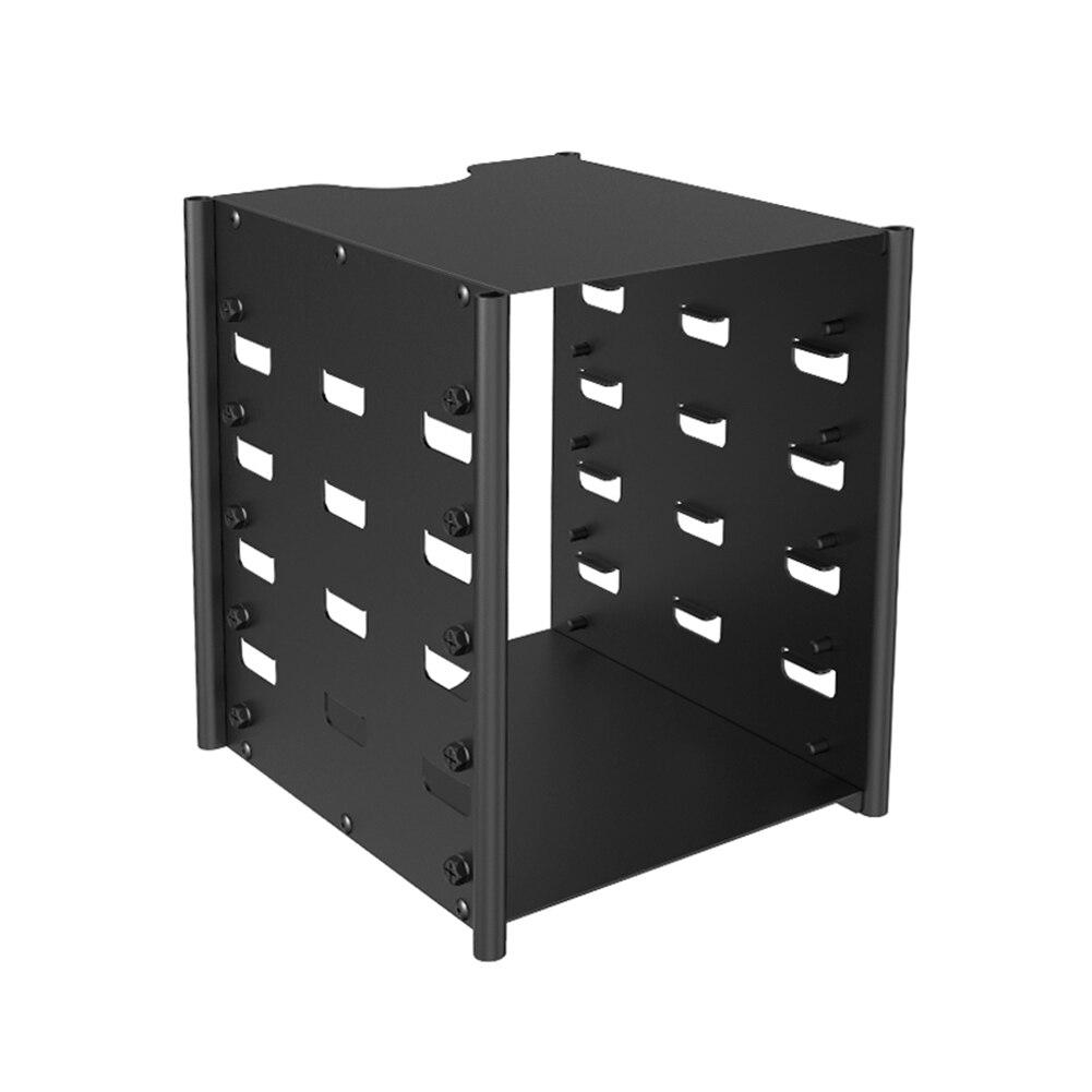 أكسيس القرص الصلب قوس متعدد الطبقات قرص صلب الرف المنظم صندوق HDD القرص الرف سطح المكتب تخزين الحاويات