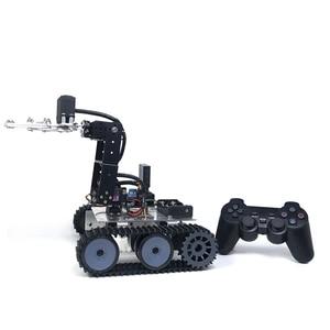4DOF DIY Robot Arm Kit Educational Robotics Claw Set Mechanical Arm for Arduino PS2 Control Programming