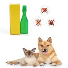 Insecticide pour animaux domestiques 2.5 ML   Spray pour puces, poux anti-insectes pour chien, chat, chiot, chaton, traitement Top