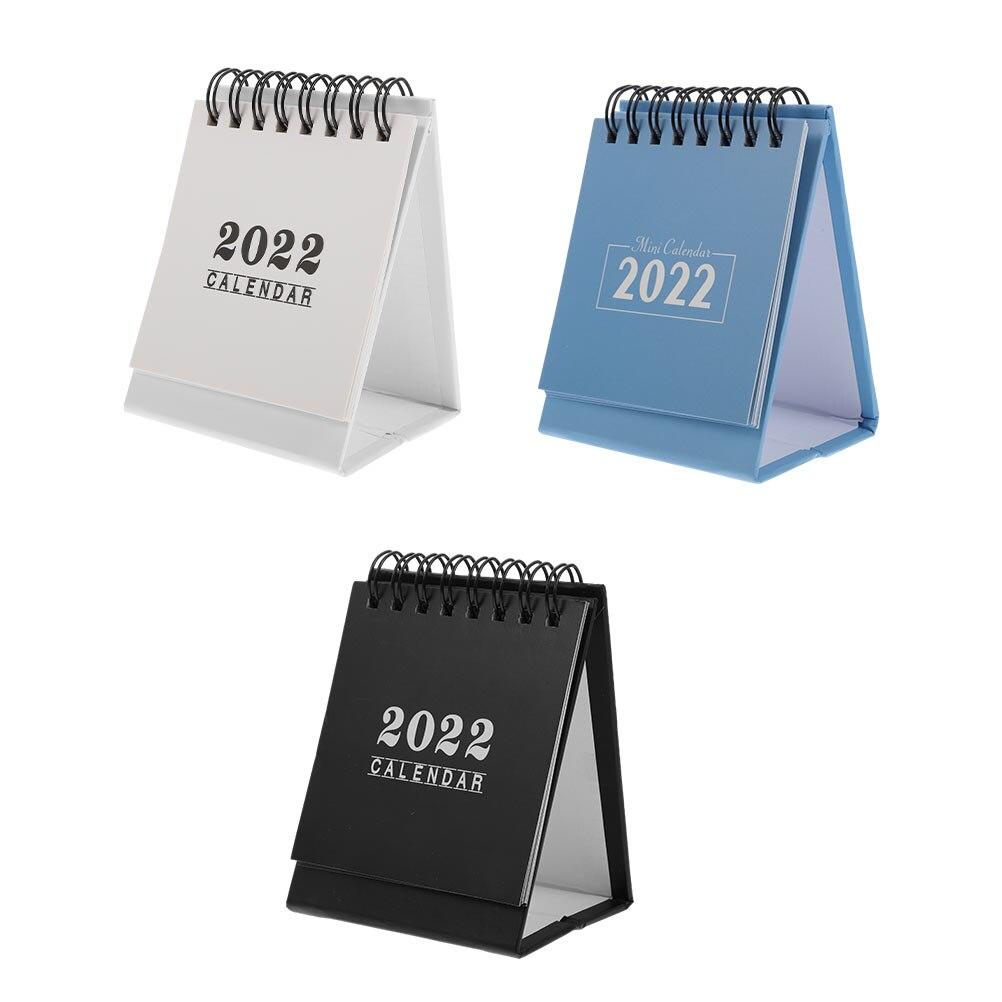 3 шт., настольные календари для офиса 2022, памятные планы, офисные календари (разные цвета)