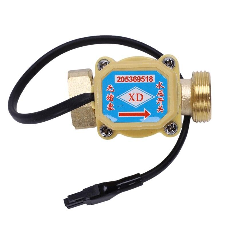 """¡Oferta! Interruptor de Sensor de flujo de agua 26mm 3/4 """"PT Conector de rosca 120W"""