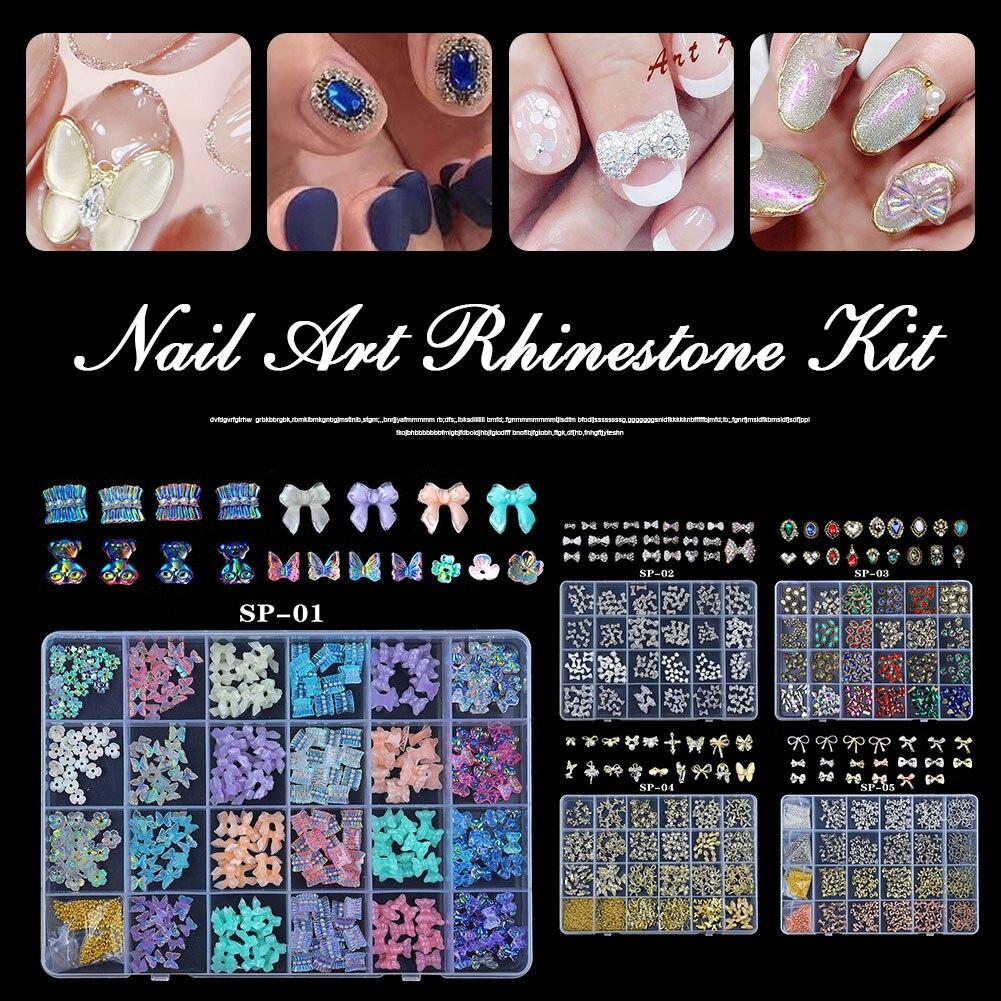 Искусство ногтей, искусство, стразы с плоской задней поверхностью, Разноцветные кристаллы, драгоценный камень, украшение для ногтевого диз...