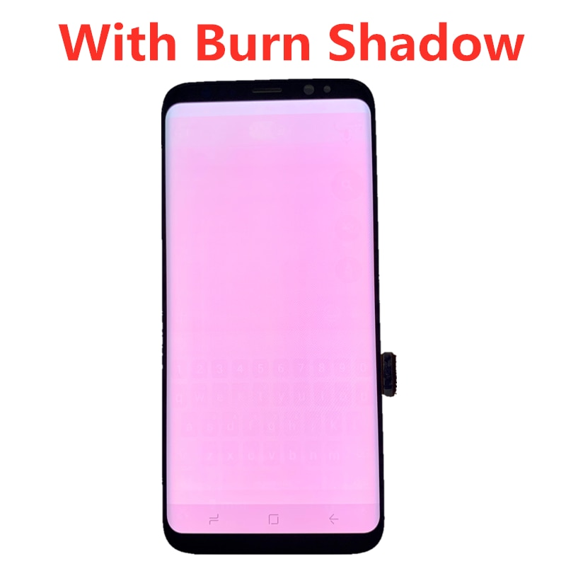 Original For Samsung Galaxy S8 LCD With Frame Super Amoled G950F G950U Touch Screen S8 Plus G955F G955U Touch Screen Assembly enlarge