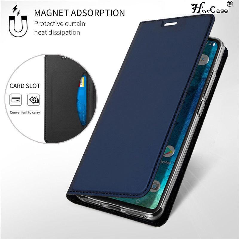 Magnetic Flip Book Case For Xiaomi Mi 8 SE A1 A2 Lite F1 Slim Leather Card Holder Cover For Redmi No