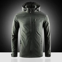 2020 men windbreaker jacket new thin casual overcoats jackets male solid loose zipper overcoats outerwear military large size