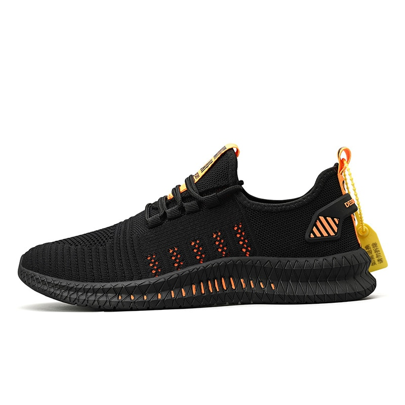 대형 37-48 초경량 브랜드 디자인 남성 스포츠 신발, 야외 남성 부드러운 밑창 메쉬 통기성 운동화