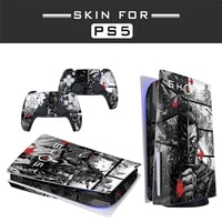ghost of tsushima ps5 disc edition skin sticker for playstation 5 console and controllers ps5 skin sticker decal cover