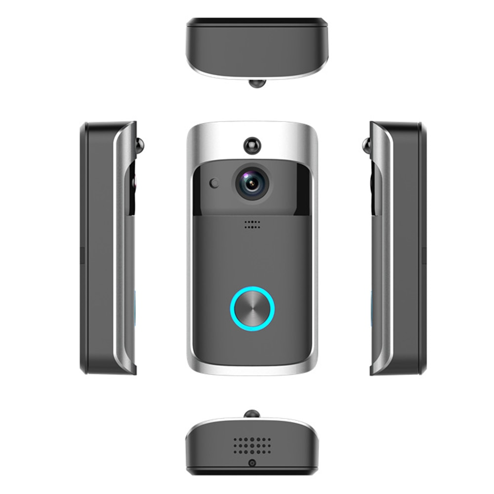 Smart Doorbell Camera WIFI Wireless Call Intercom Video for Apartments Door Bell Night Vision for Phone Home Security Cameras enlarge