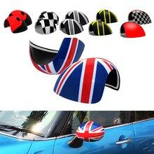 KJAUTOMAX couvercles de protection pour rétroviseur   Pour Mini Cooper R50 R52 R53 rétroviseur latéral, accessoires de style de direction droite pour voiture