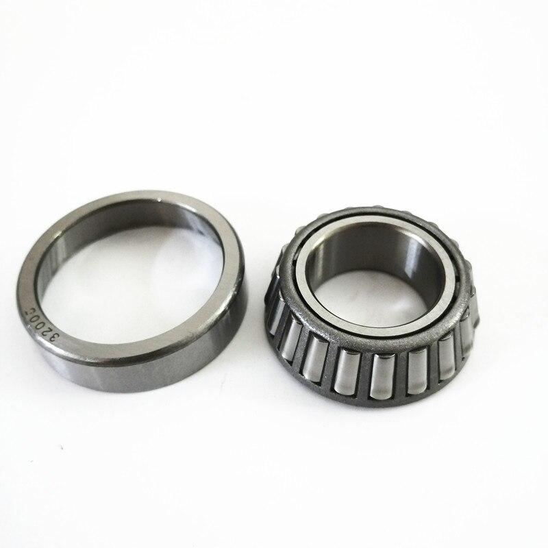2X 32005 rodamiento de rodillos cónicos diámetro exterior 47mm diámetro interior 25mm 25 × 47 × 12mm