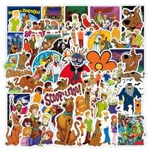 10 50PCS Scooby Doo Monsters Unleashed Stickers Waterproof Suitcase Notebook Skateboard PVC Sticker Refrigerator Naklejki