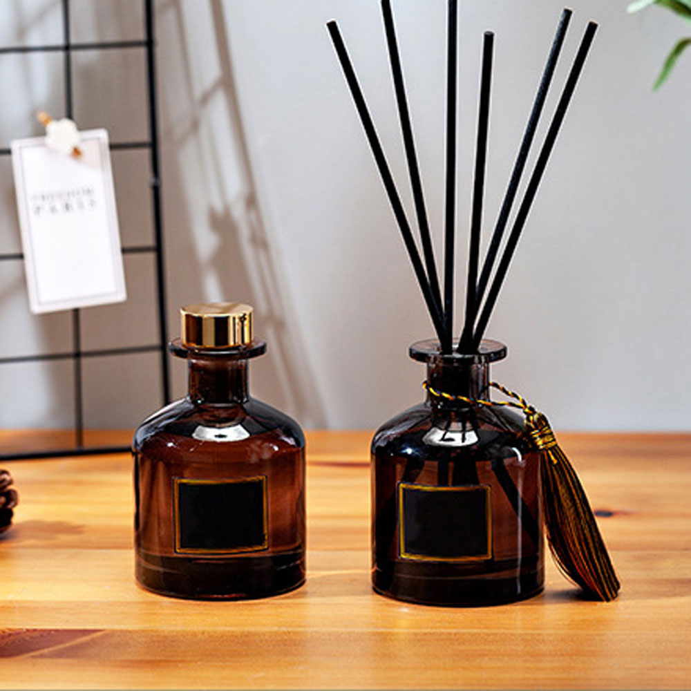 50ml Fragrance Decoration Rattan Sticks Purifying Air Aroma Diffuser Set Aromatherapy Living Room Of