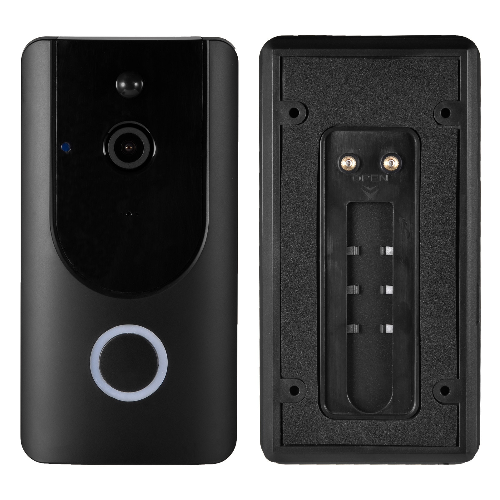 2021 HD Video Intercom Home Doorbell Smart Wireless Door Monitoring System Security Alarm Type Device 1080P APP Remote Recording