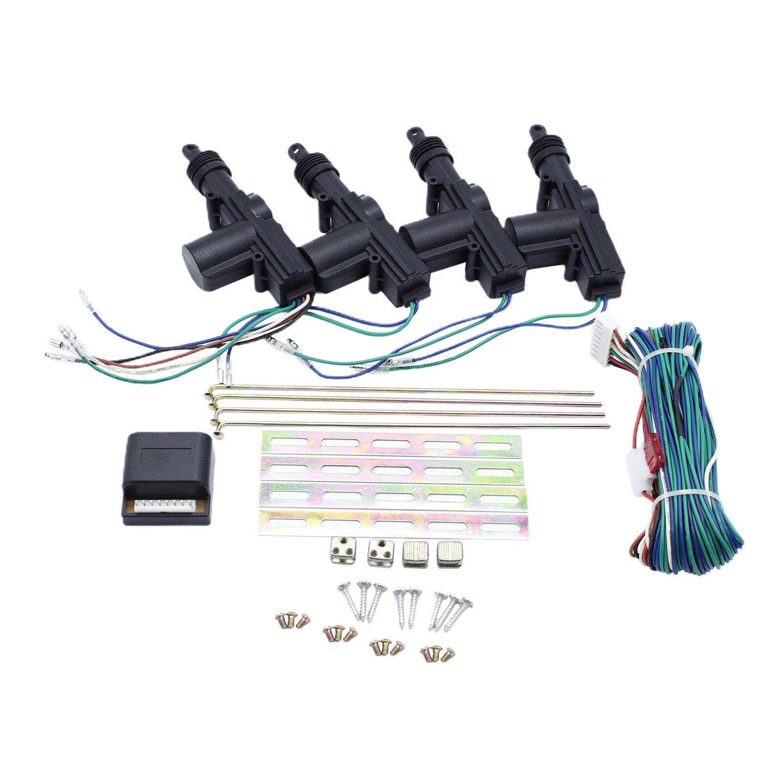 Keyless Entry System 4 Türschloss Antriebe Zentrale Steuerung Locking Set, Hohe Leistung