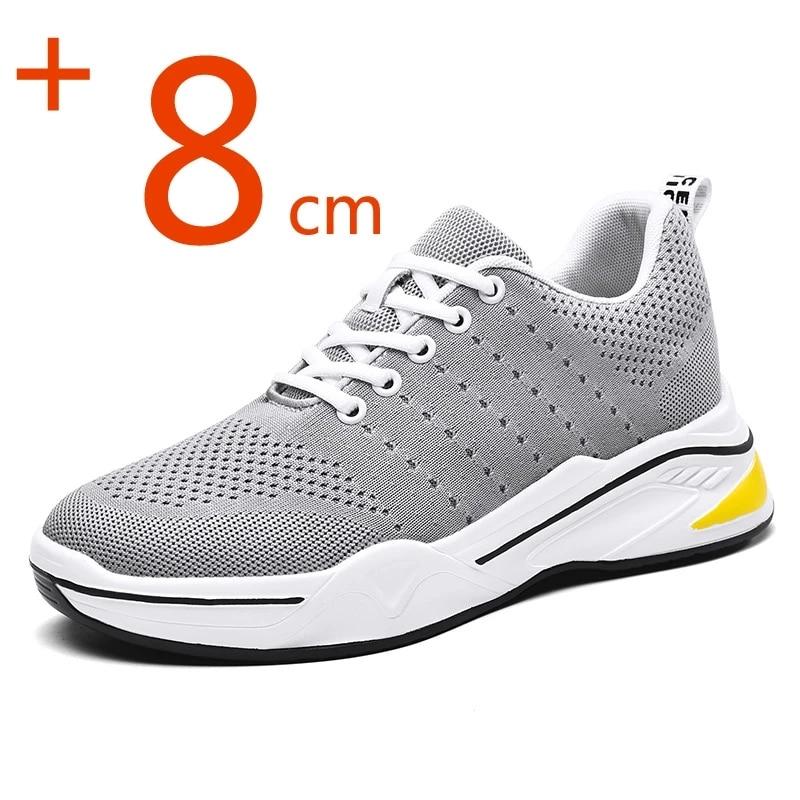 Фото - YEINSHAARS/мужские увеличивающие рост туфли, увеличивающие рост туфли для мужчин, повседневные туфли на платформе 8 см, черные туфли carlabei туфли carlabei ha833 121 q466