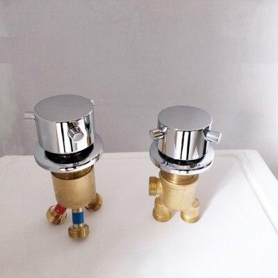 MTTUZK Джакузи кран аксессуары Сплит Тип горячей и холодной воды переключатель микширования 1 в 2 из водоотделитель Ванна переключающий клапан