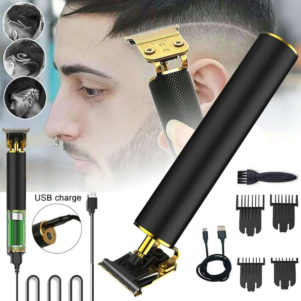 2020 cortadora de pelo profesional USB recargable cortadora de pelo Barbero recortadora cortadora de barba corte de pelo para hombres herramienta de estilismo