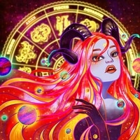 5d diamond painting kits poured glue full round square with ab drill embroidery girl witch mosaic picture home decor