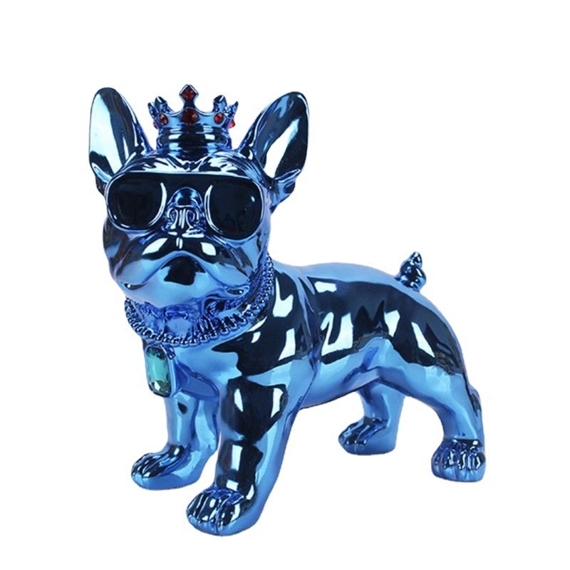 Big Crown Dog Bluetooth Speakers Wireless Bulldog Audio for Car, Desktop, Fitness, Outdoor, K Song, Live Broadcast, Outdoor Lawn enlarge