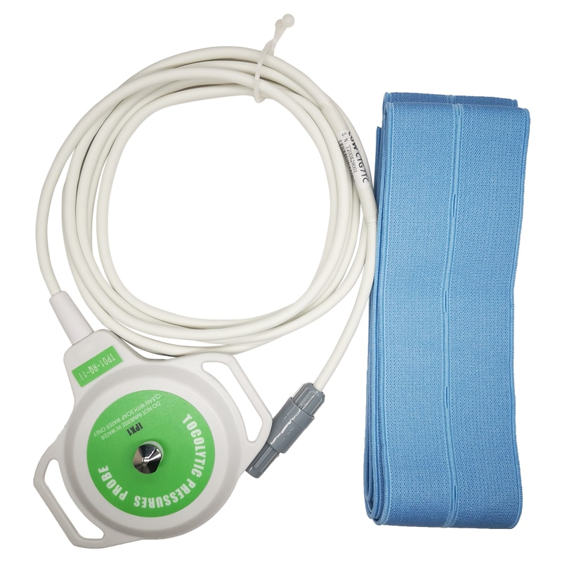 Reusable Medical Fetal TOCO Transducer Probe 6 Pin Two Notch For Goldway UT3000A CTG7 Fetal Monitor System