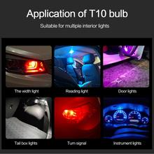 LED 2pcs License Plate Lamp General  DC12V  0.36W  Acrylic Car Bulb Wedge Dome Light Side Marker Lig