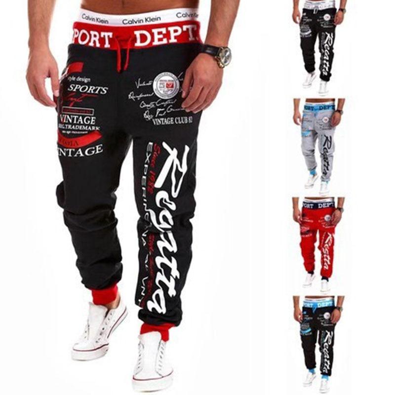 Pantalones de chándal 2020 para hombre, Pantalones de chándal, Pantalones Cargo de Hip Hop, Pantalones casuales de moda para hombres, Pantalones casuales de lobo adolescente